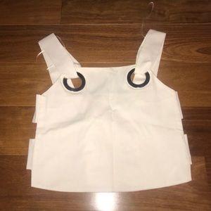 Zara cut out shirt
